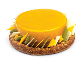 gateau praline mangue