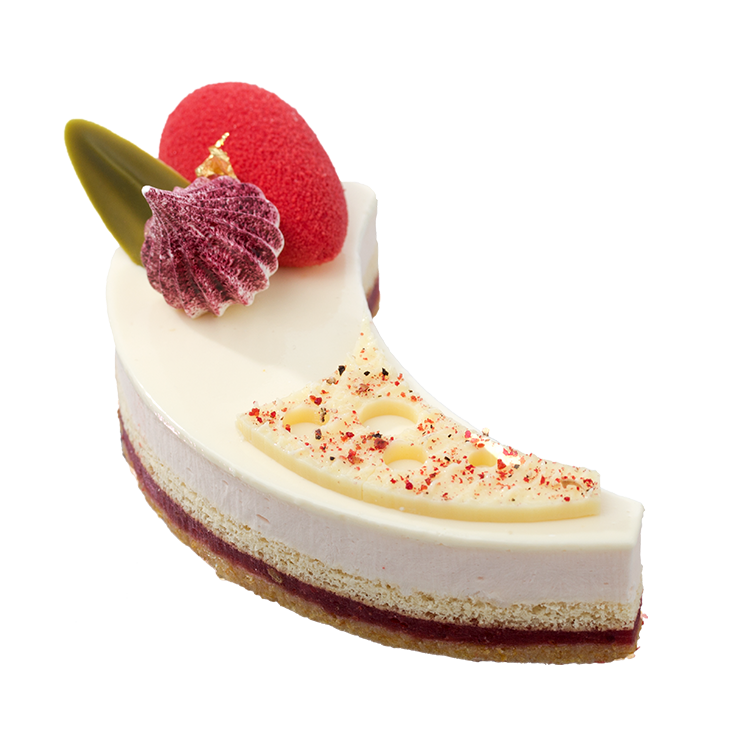 crescent strawberry and yoghurt